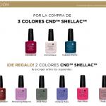 CND colores uñas